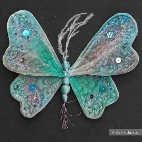 Бабочки - украшаем интерьер своими руками: