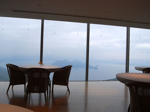 9 Michel Bras Toya Toya Japan For Sweeping Views Of Awesome Volcanic Lake Toya Make A Reservation For Michel Bras Toya A Unique French Inspired Restaurant