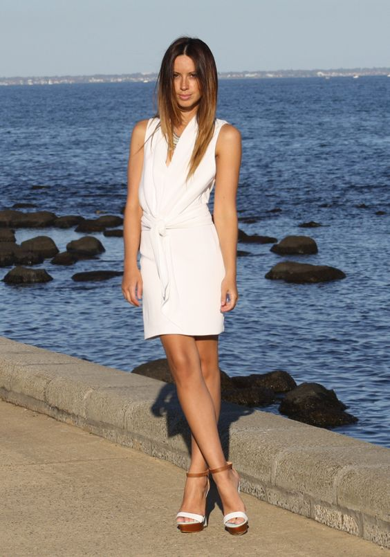 Bec and Bridge bellini drape sash dress on Friend in Fashion www.friendinfashion.blogspot.com