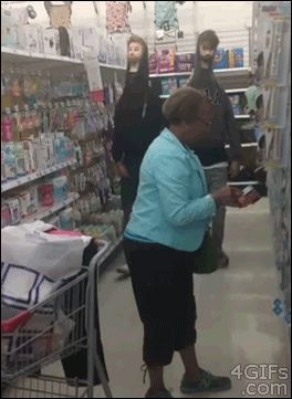 13 GIFs Of Pranksters Spooking Perfectly Innocent Non-Pranksters: some of these are so mean lol