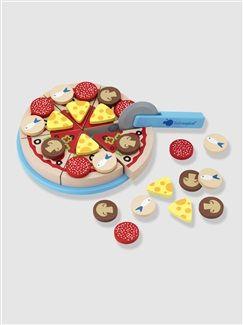 Pizza bois deliset vertbaudet enfant cuisine dinette for Cuisine enfant vertbaudet