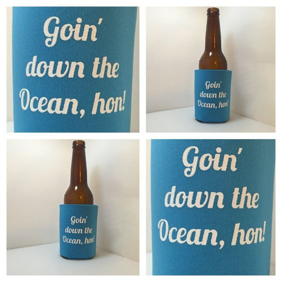 4 PACK  Goin' Down The Ocean Hon by PagodaProvisions on Etsy
