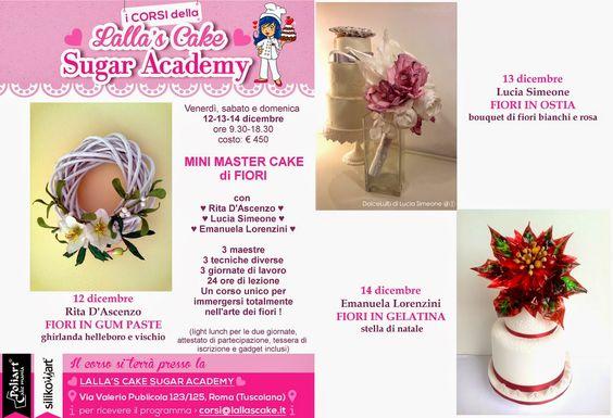 Lalla's Cake - sugar art & cake design: Mini Master Cake - FIORI
