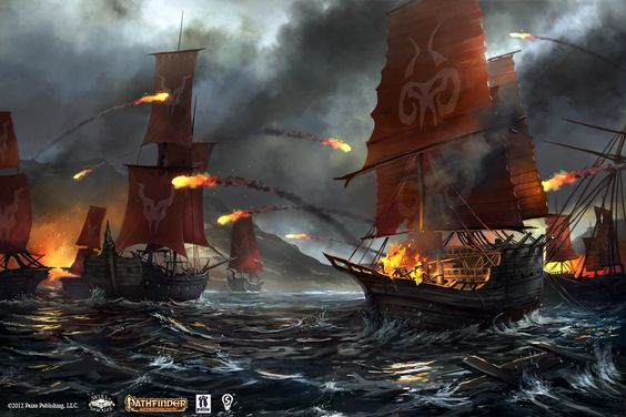 Naval Combat Opener by ~bpsola on deviantART