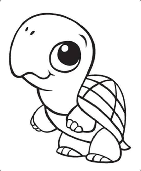 Pin By Maureen Guzman On Tortuga Turtle Coloring Pages Cute Coloring Pages Baby Coloring Pages