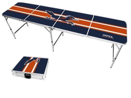 Texas San Antonio Roadrunners Varsity Stripe Folding Table