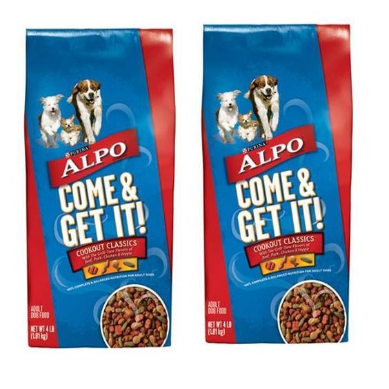 ALPO Dry Dog Food, Come and Get It! Cookout Classics, 4 lb Bag (Pack of 2) #ALPO  3 packs of 2 each