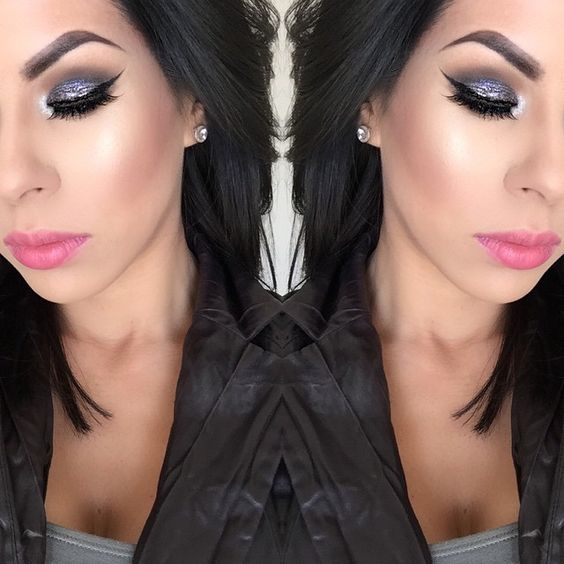 Close up and full face details of yesterday's look. Day 11 of