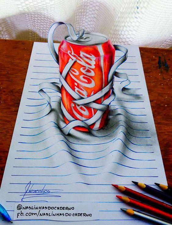 Dibujos 3d Lineas Sombras 16 Anos J Desenhos 8 Como Dibujar En 3d Dibujos 3d Dibujos 3d A Lapiz
