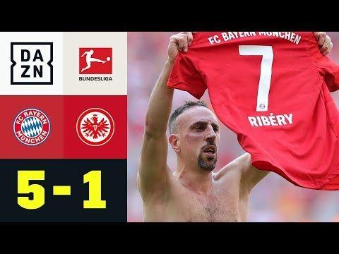 Traumtor Von Franck Ribery Zur Meisterparty Bayern Munchen Eintracht Frankfurt 5 1 Bundesliga Youtube Eintracht Frankfurt Eintracht Bayern Munchen