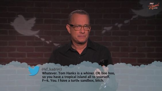 #tomhanks #meantweet