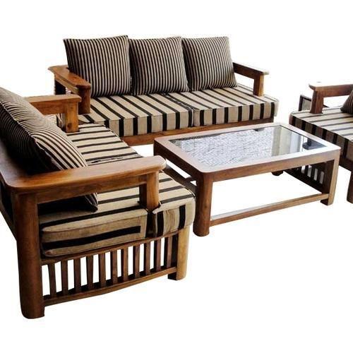 Wooden Sofa Set Desiclo Com In 2020 Wooden Sofa Set Furniture Sofa Set Sofa Set Designs