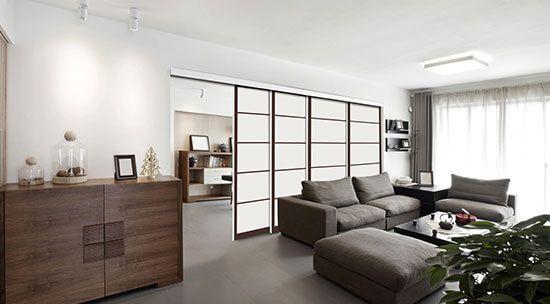 Tixelia - Portes de placard et dressing + tête de lit personnalisables - La séparation de piéces simplissime
