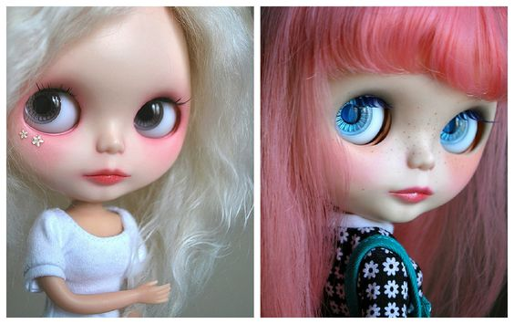 Photos: Tinkerina. Cwikla, Cassiopeia Spice custom, and Scarlet Rose, Dainty Biscuit custom.