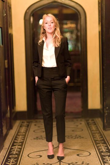 Must Try: PANTSUITS! for petite women slim cropped pants and a ...