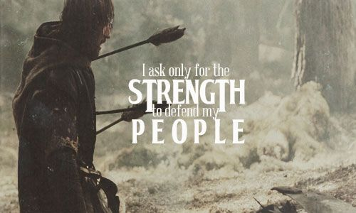 A good man strength and the end on pinterest - Lord of the rings book ends ...