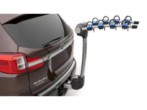 Subaru Ascent Bike Carrier Hitch Mounted Thule 4 Bike Subaru