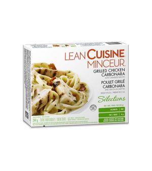 CUISINE MINCEUR Poulet grillé carbonara