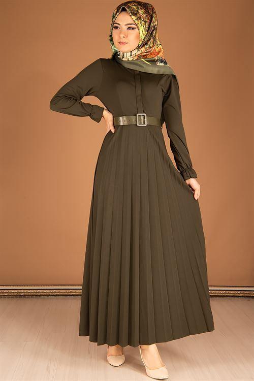 Modahira Tesettur Sik Piliseli Elbise Modelleri Elbise Modelleri Elbise Victorian Elbiseler