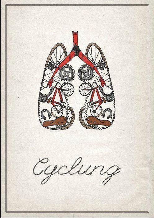 Erin B B B B Kim Solicitors: Cycling Quote, Bike Poster, Cycling Poster, Bicycle Art, Bicycle