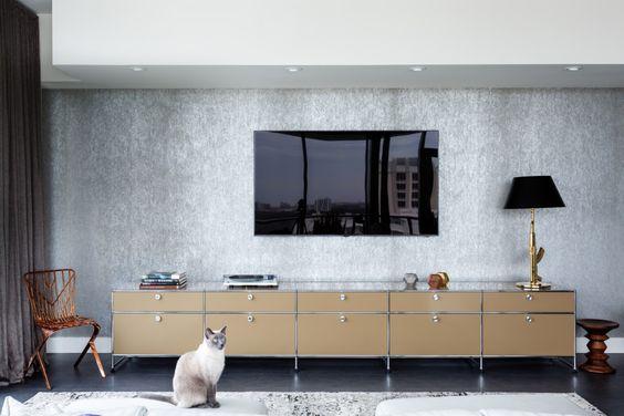 リビング テレビ 壁掛け コーディネート例