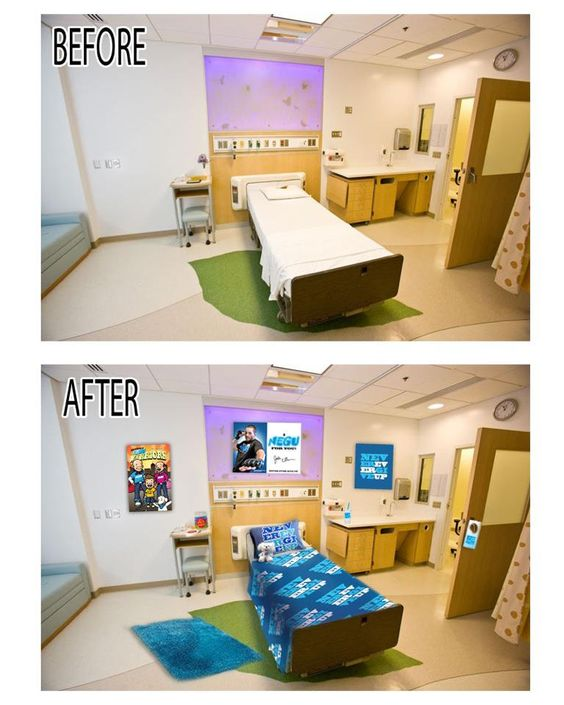 Hospital Room Makeovers For Courageous Kids--Coming Soon