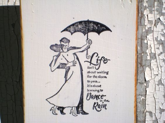Dancing In The Rain,Anniversary Gift,Inspirational Quote,Wood Wall Art,Modern Art,Minimalist Wall Art,Bohemian Decor,Dancing Decor by BlackCrowCurios on Etsy