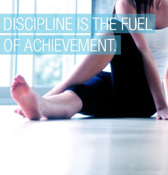Discipline is the fuel of achievement.