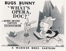 What's Opera, Doc? - Wikipedia  And link to funnyjunk's page with the clip  http://www.funnyjunk.com/movies/3182/What+s+Opera+Doc/
