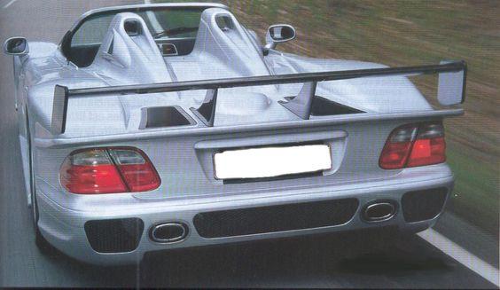Mercedes CLK-GTR-Roadster