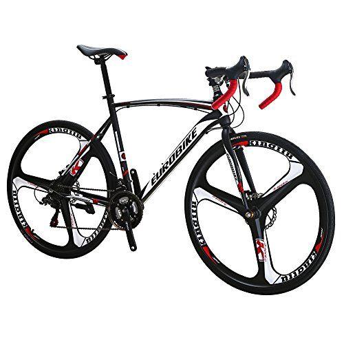 Eurobike Xc550 21 Speed 54 Cm Frame Road Bike 700c 3 Spoke Wheels