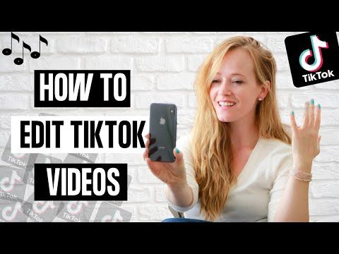 How To Edit A Tiktok Video 2020 Tik Tok Editing Tutorial Youtube Editing Tutorials Social Media Advice Blog Social Media