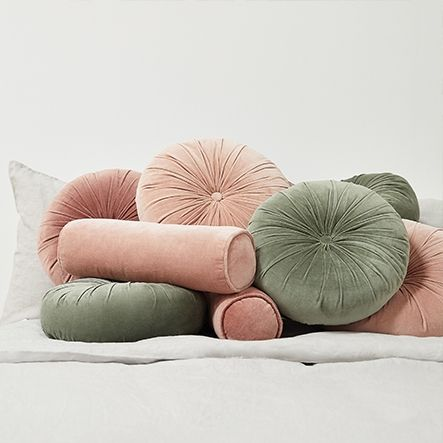 Round Couch Pillows