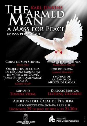 Cor de Calvià. The armed Man. 2012