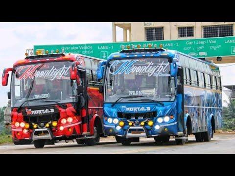 Moonlight Immortals Kerala New Tourist Bus Tourist Bus Lovers