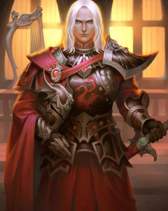 "Rhaegar Targaryen by 鹤庵 波影 ""Rhaegar fought valiantly, Rhaegar fought nobly, Rhaegar fought honorably. And Rhaegar died."""