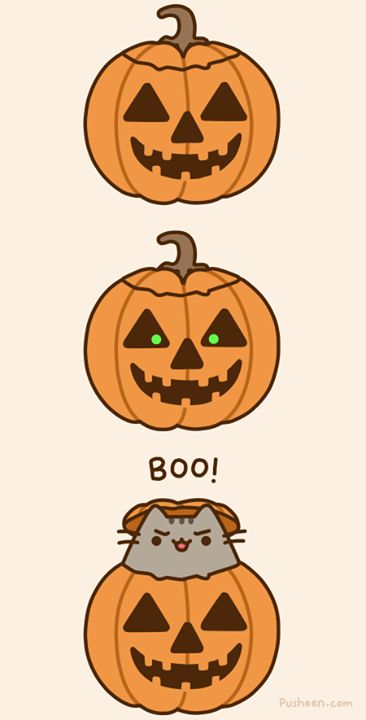 A Pusheen Halloween