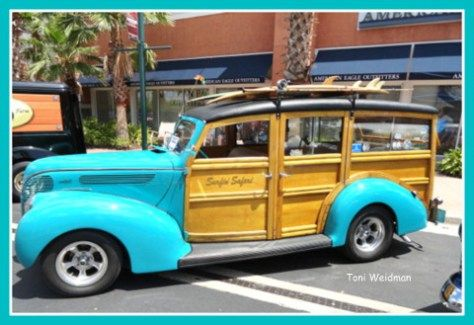And They called it a Woody - At the Shops of Wiregrass Car Show. Toni Weidman, Florida Luxury.
