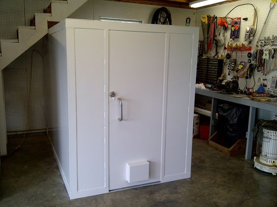 Pinterest the world s catalog of ideas for Garage safe room
