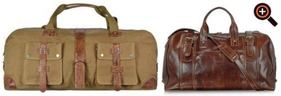 Reisetasche Leder Herren – Weekender, Tasche & Trolley für den Urlaub