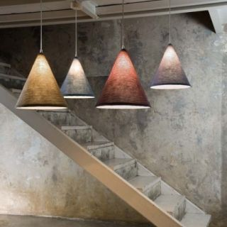"""Lampe suspensions """"Tricot Style cône """""""