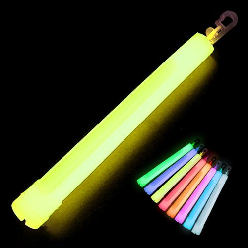 6 Inch Glow Sticks 12 Hour Premium Glow Sticks Glow Emergency Lighting