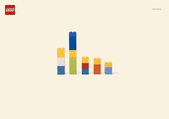 Lego deconstruction of pop culture characters.  Brilliantly simple.  Imagine framed prints of these in a child's room.
