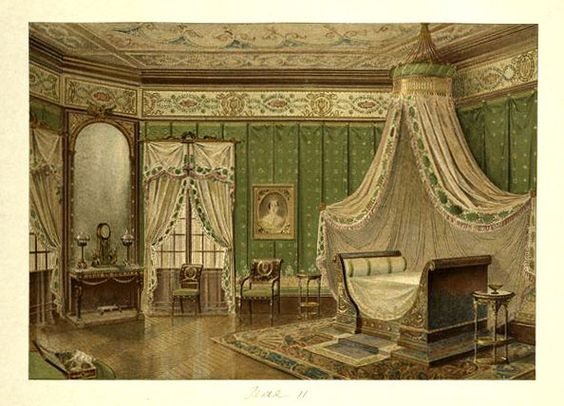 Pinterest the world s catalog of ideas for Chambre a coucher style empire