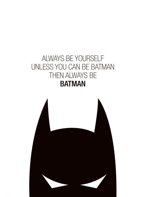 Barntavlor med Batman, posters till barn