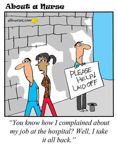 Cartoon: Stop complaining about your job - It could be worse.
