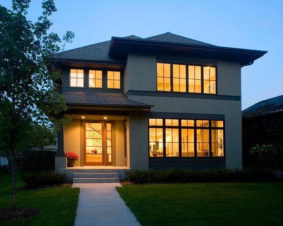 Contemporary Style House Design: Asian Contemporary House: Striking View  Asian Contemporary Home Facade Green Lawn ~ Rhizozone.com Architecture Insu2026  ...
