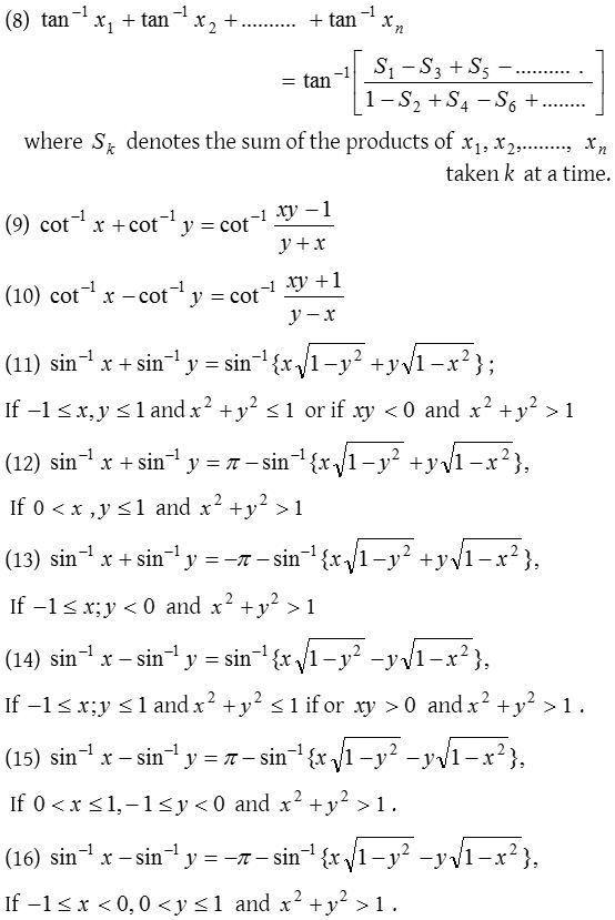 Inverse Trigonometric Functions Worksheet What Are The Inverse Trigonometric Functions In 2020 Mathematics Worksheets Studying Math Trigonometric Functions
