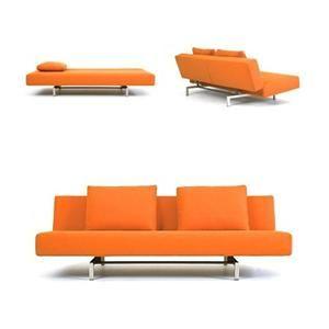 'sleeper' sofa designed by niels bendsten for bensen
