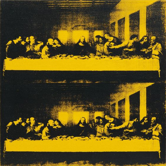 """Last Supper"" by Andy Warhol (1986)"